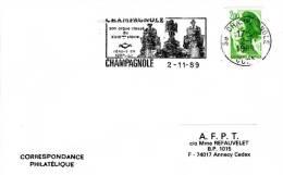FRANCE - CHAMPAGNOLE 1989 - ORGUES ORGAN - Musique