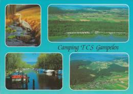 Fanel, TCS Camping Gampelen: Marke Zum: 1108, St. 3236 GAMPELEN 10.7.06 - BE Berne