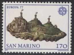 PIA -  SAN  MARINO - 1977 : Europa  (Un  978-79) - Europa-CEPT