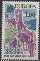 PIA - ANDORRA  FR. - 1977 : Europa  (Un 261-62) - 1977