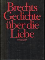 BRECHT- GEDISCHTE UBER DIE LIEBE - Libri, Riviste, Fumetti