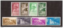 MARI1-L2663BTRI.Maroc Marocco.MARRUECOS ESPAÑOL REINO INDEPENDIENTE 1956 (Ed 1/8**) Sin Charnela.MAGNIFICA - Islam
