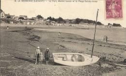 LA BERNERIE. -   Le Port Marée Basse Et La Plage Sainte Anne   50 - La Bernerie-en-Retz