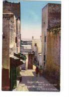 CPA  Couleur Maroc Tanger Une Ruine De La Casbah - Tanger