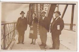 Uruguay Steel Bridge Railroad Santa Lucia Real Photo Postcard Ca1920 Ak Cpa [W3_0590] - Puentes