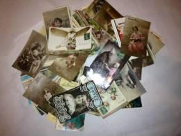 Environs 300 Cartes Postales Anciennes  D´illustrateurs - Cartes Postales