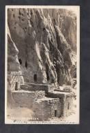 CPA Photo - Frijoles Canyon - Ruines Indiennes - Habitation Troglodyte - Etats-Unis