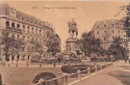 Germany Koeln Kaiser Wilhelm Denkmal