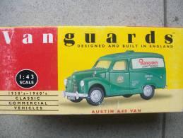 VANGUARDS - AUSTIN A 40 VAN   Scala 1/43 Avec Sa Boite - Cars & 4-wheels
