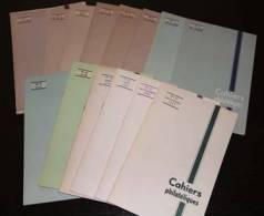 Les Cahiers Philatéliques : Collection Compléte 14 Numéros - Non Classés