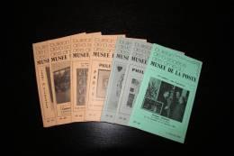 Bulletin De La Société Des Amis Du Musée De La Poste; Ensemble De  8 Numéros - Non Classés