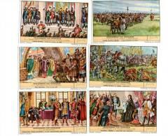 Liebig ( Geschiedenis Van Hongarije) Serie Complet 6 Chromo´s - Liebig
