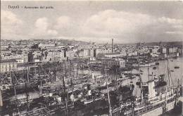 Cpa Napoli, Naples, Panorama Dal Porto - Napoli (Naples)