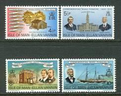 Isle Of Man  Pioneers In America  Set  SC# 62-65 MNH** - Unabhängigkeit USA