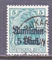 German Occupation Romania  3N 8   (o) - Occupation 1914-18