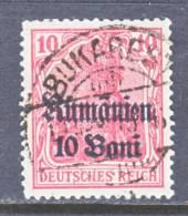 German Occupation Romania  3N 9   (o) - Occupation 1914-18