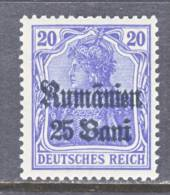 German Occupation Romania  3N 11   ** - Occupation 1914-18