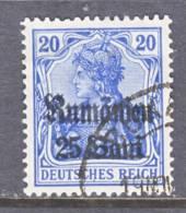 German Occupation Romania  3N 11a  Blue   (o) - Occupation 1914-18