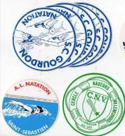 Autocollant Sport Natation - Gourdon, Saint-sebastien, Villeneuve Sur Lot (7) - Stickers