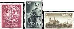 España 1126/1128 ** Salamanca. 1953 - 1951-60 Nuevos & Fijasellos