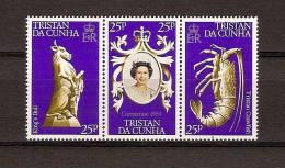 Tristan Da Cunha 1978 Yvertn° 233 235 *** MNH Cote 24 FF - Tristan Da Cunha