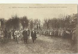 METZ.  7 Décembre 1918.  Revue Passée Par Le Président De La République Et M.Clemenceau. - Metz