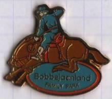 PAYS BELGIQUE PARC ATTRACTION BOBBEJAANLAND - Pin's