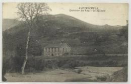 L' ESTRECHURE (GARD - 30) - CPA - QUARTIER DU HAUT - LA FILATURE - Autres Communes