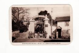 Carte 1930 MONTPELLIER / 81 Ième R.I.A ,caserne De Lauwe , Entrée - Montpellier
