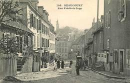 BEAUCOURT - Rue Frédéric JAPY Animée - Edition A. Et H.C. - TBE - 2 Scans - Beaucourt