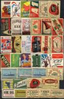 Old Matchbox Labels - Mixed - Luciferdozen - Etiketten