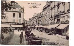 CAEN/ 14/ Rue De Strasbourg Et Hôtel De La Place Royale / Réf: 642 - Caen