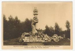 62 - Neuville-Saint-Vaast             Cité Des Mutilés -  Le Monument Du Flambeau - France