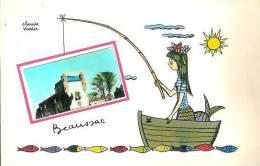 24  BEAUSSAC Carte Illustrée Par Claude Verrier - France