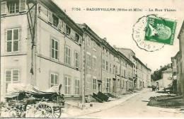 54 BADONVILLER La Rue Thiers - Other Municipalities