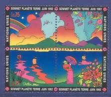 UN Geneva 1992 Michel # 215-218, Block Of 4, MNH** - Blocchi & Foglietti