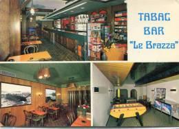 CPSM 29 LANDIVISIAU BAR TABAC LE BRAZZA  1989 Grand Format - Landivisiau