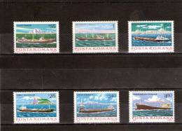 1979 - Batimens De La Marine Yv No 3191/3196 Et Mi No 3613/3618 - Ungebraucht