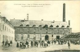 OURSCAMP - Cour De L'Usine Et Sortie Des Ouvriers - Other Municipalities