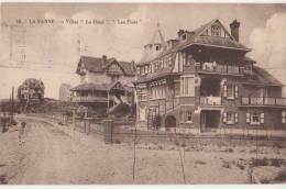 CPA BELGIQUE LA PANNE DE PANNE Villas Le Houx Et Les Flôts 1930 - De Panne