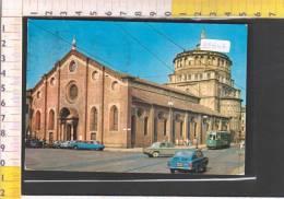 39642 MILANO SANTA MARIA DELLE GRAZIE CHIESE AUTO TRAM - Milano