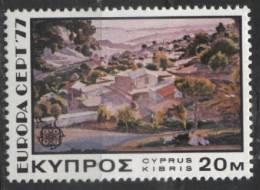 PIA - CIPRO GR. - 1977 : Europa   (Un  459-61) - Europa-CEPT