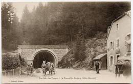88 Les Cols Des Vosges Le Tunnel De Bussang Cote Alsacien  Précurseur Scordel Peu Courant - Col De Bussang