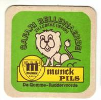 1 Bierviltje  Bry De Gomme   Munck Pils - Bierdeckel
