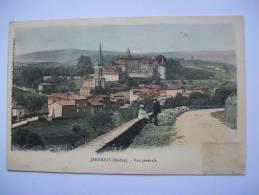 Ma Réf: 68-17-32.                 JARNIOUX    Vue Générale    ( Colorisée ). - France