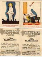 Les Laines Sainte Geneviève 2 Chromos -  49304) - Au Bon Marché