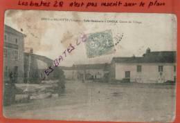 CPA 88, MENIL-SUR-BELVITTE,  Café-Rautaurant Divoux, Centre Du Village,   Scènes & Types, Oct  2012 GER-267 - Francia