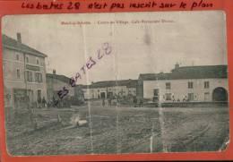 CPA 88, MENIL-SUR-BELVITTE,  Café-Rautaurant Divoux, Centre Du Village,   Scènes & Types, Oct  2012 GER-269 - Francia