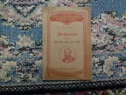 IMMENSÉE +DE THÉODOR STORM + ÉCRIT EN ALLEMAND GOTHYQUE+ 1946+ - Schulbücher