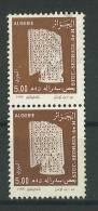 VEND TIMBRES D ´ ALGERIE N° 1089 EN PAIRE + 1 ANNEAU DE LUNE !!!! - Algerije (1962-...)